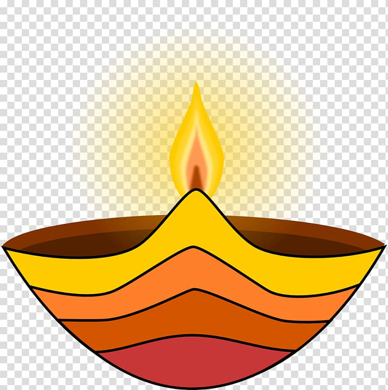 Light Diwali Diya , lamp transparent background PNG clipart.
