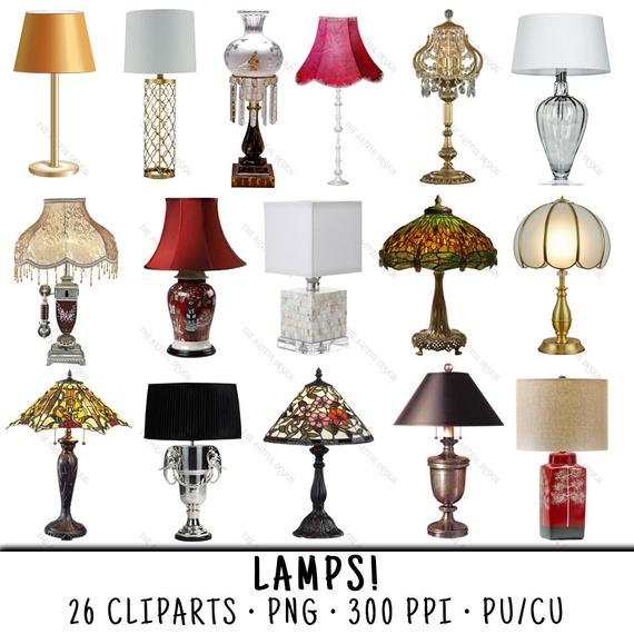 Lamp Clipart, Light Clipart, Lamp Clip Art, Light Clip Art, Clipart Lamp,  Clipart Light, Lamp PNG, Light PNG, Table Lamp, Floor Lamp.