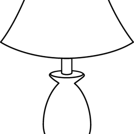 Lamp PNG Black And White Transparent Lamp Black And White.PNG Images.