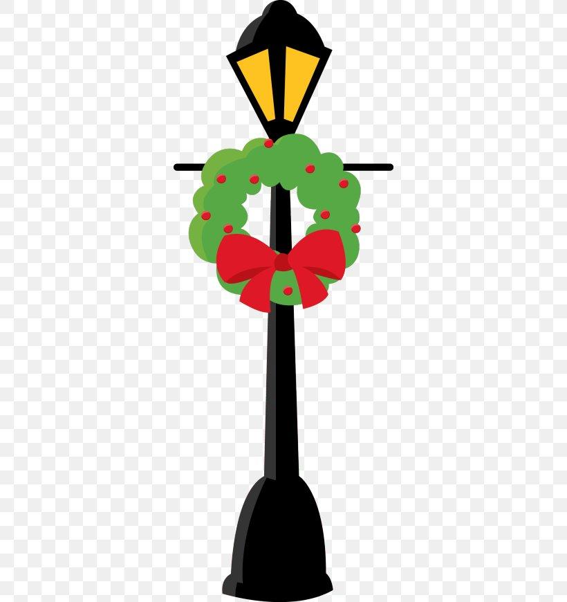 Street Light Christmas Lights Clip Art, PNG, 318x870px.