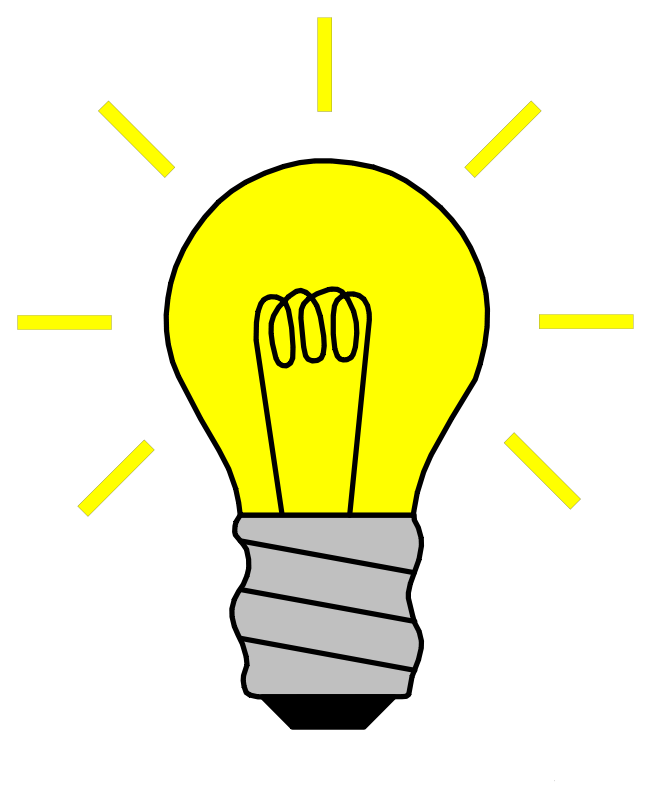 Free Clipart: Light Bulb On.