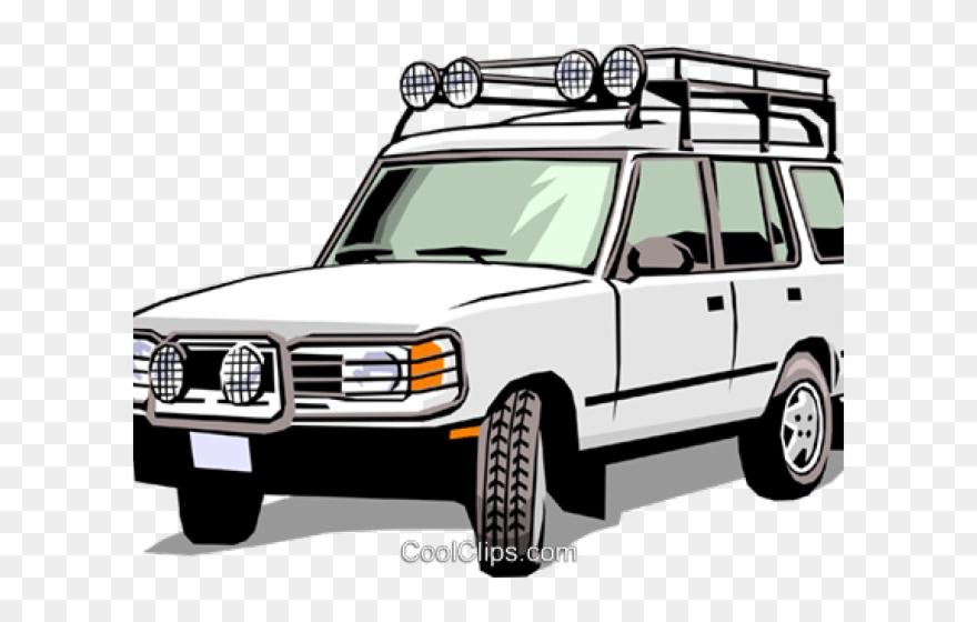 Land Rover Clipart Cartoon.