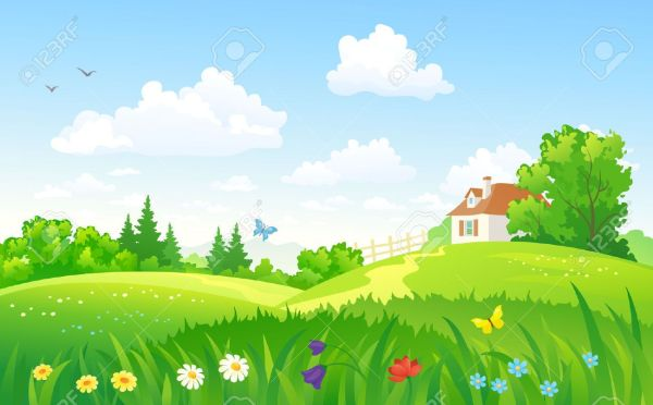 25+ Landscape Summer Background Clip Art Pictures and Ideas on Pro.