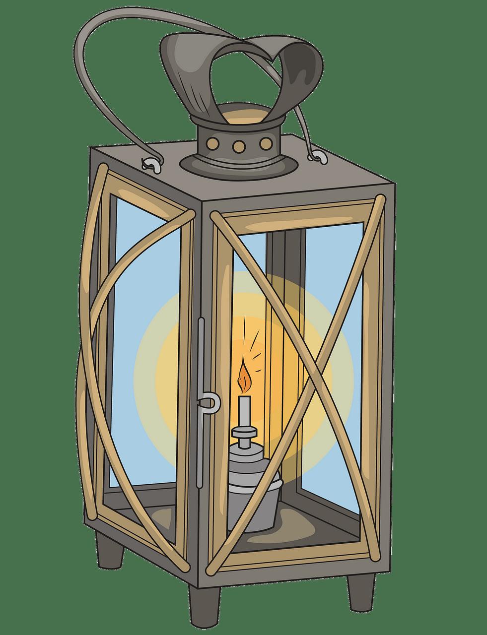 Christmas Lantern clipart. Free download..