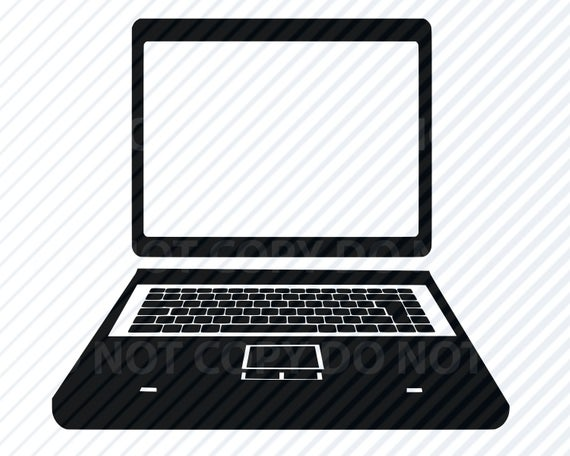 Laptop computer SVG Files For Cricut.