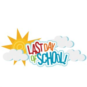 Last Day Of School Clipart.