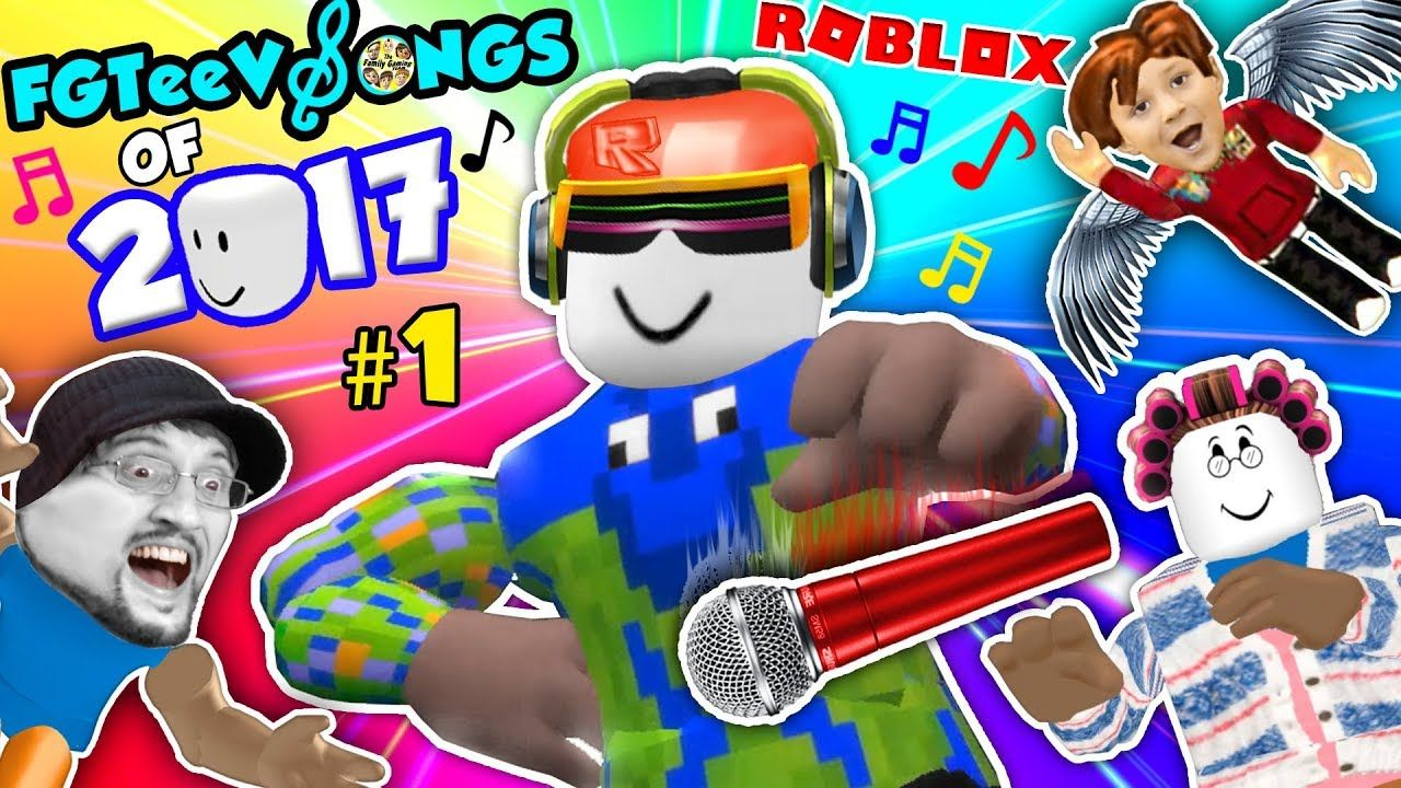 ROBLOX SONGS of 2017! Grandma Get Away! (FGTEEV Music Video.