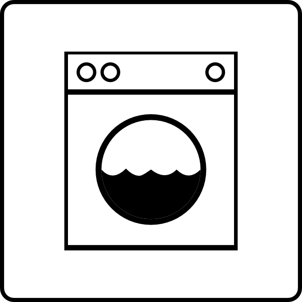 Hotel Icon Has Laundry Clip Art at Clker.com.