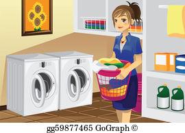 Laundry Room Clip Art.