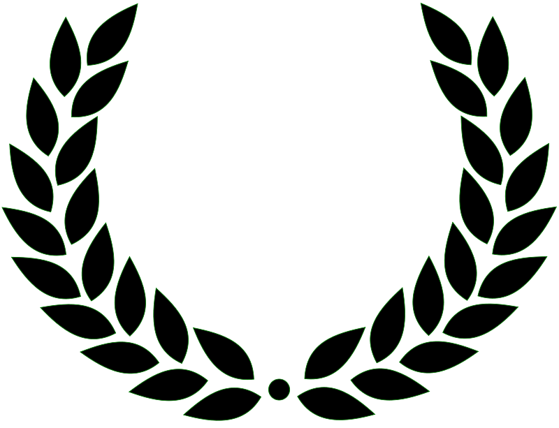 Free Clipart: Laurel wreath.