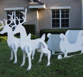 Large Outdoor Christmas Decorations ‹ Decor Love.