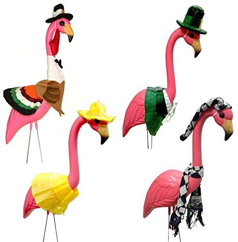 17 Best ideas about Pink Flamingos Lawn Ornaments on Pinterest.