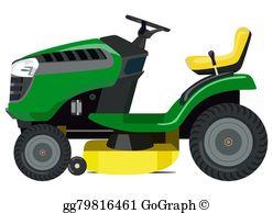 Lawn Mower Clip Art.