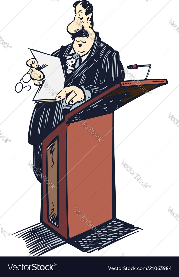 Lawyer cartoon clipart lawyer standing on table.