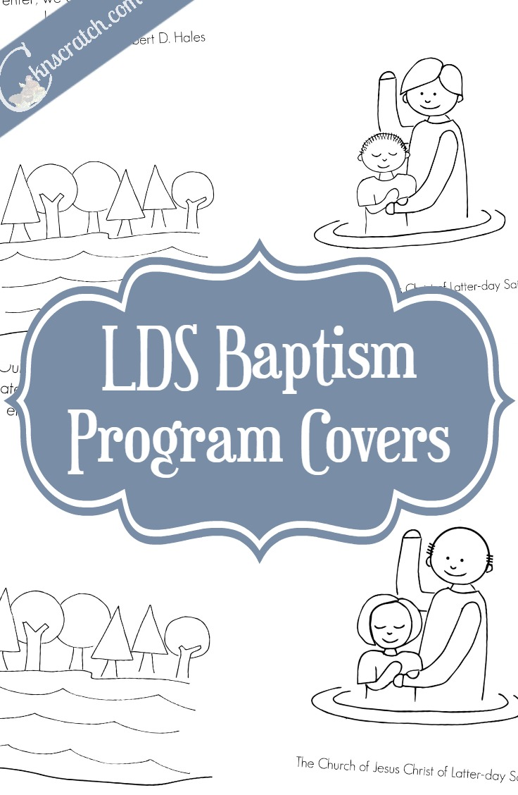 Free LDS Baptism Covers — Chicken Scratch N Sniff.