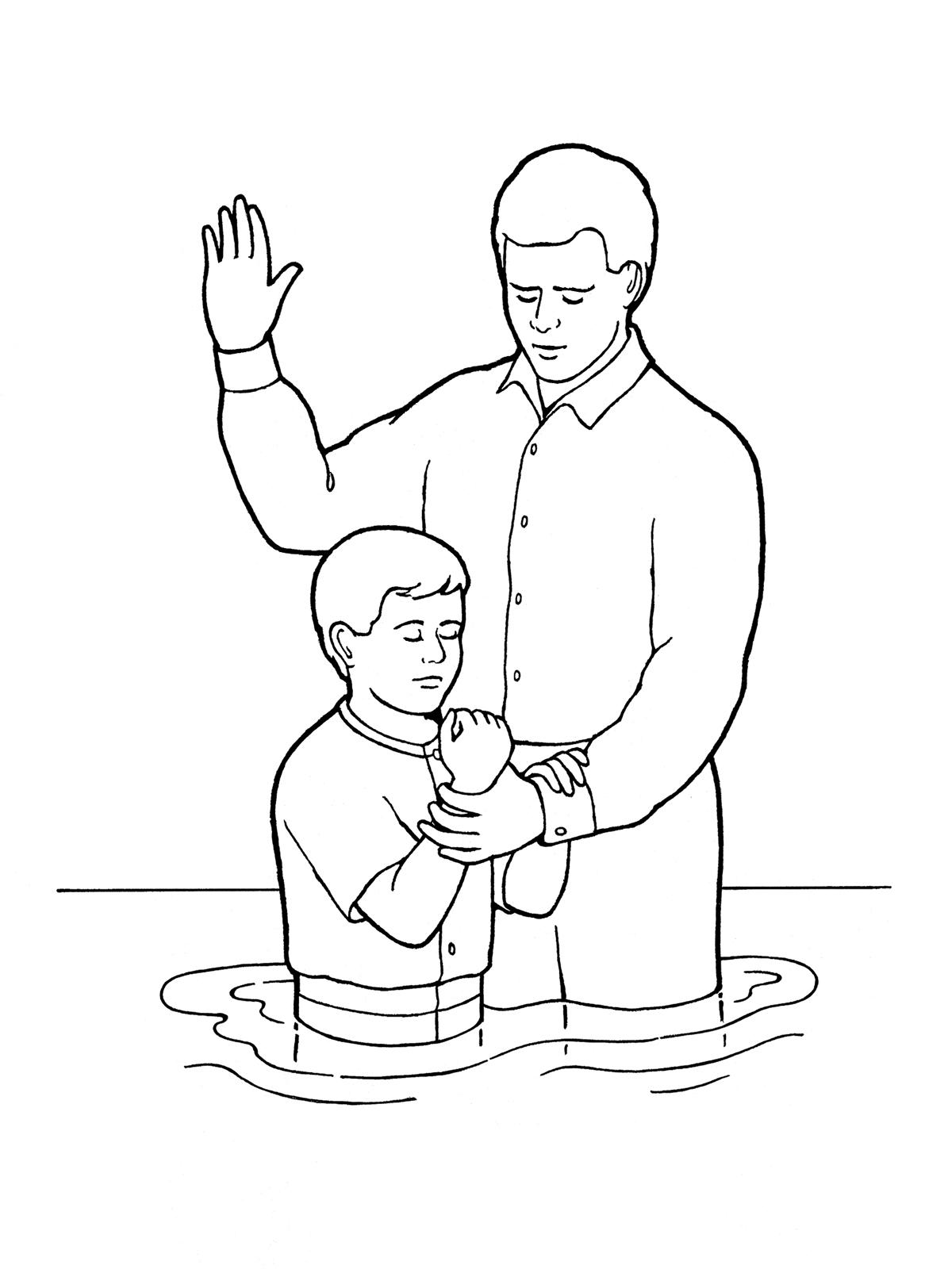Lds Clipart Baptism Boy & Free Clip Art Images #14803.