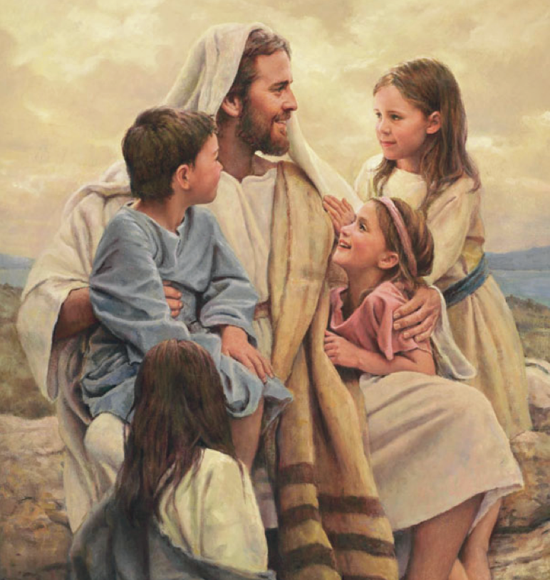Clipart Lds Children Learning About Jesus Clipground