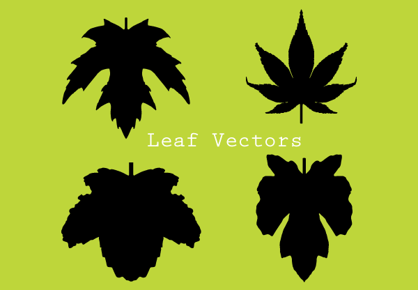 Leaf Silhouettes Free Clip Art Images.