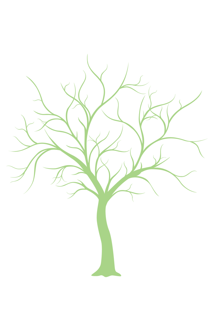 Clipart Leafless Tree Wedding.