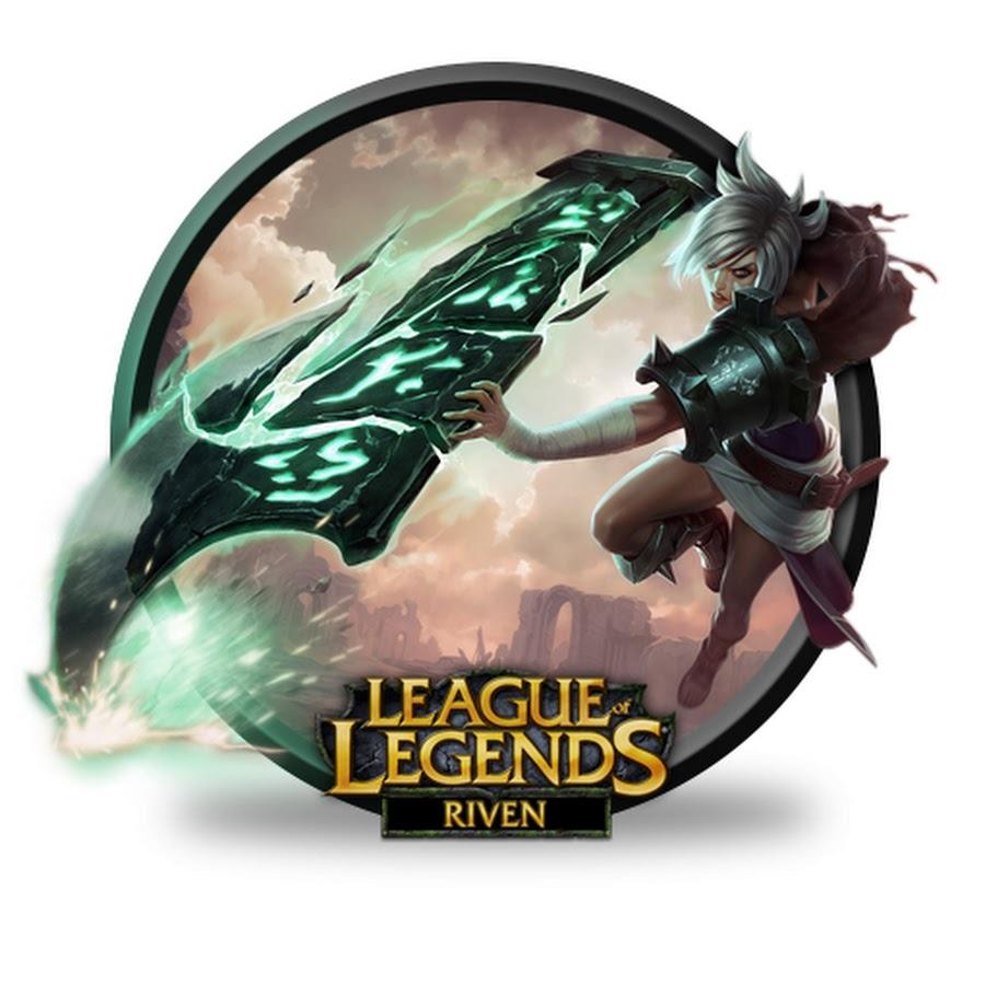 League Of Legends Riven Clipart.