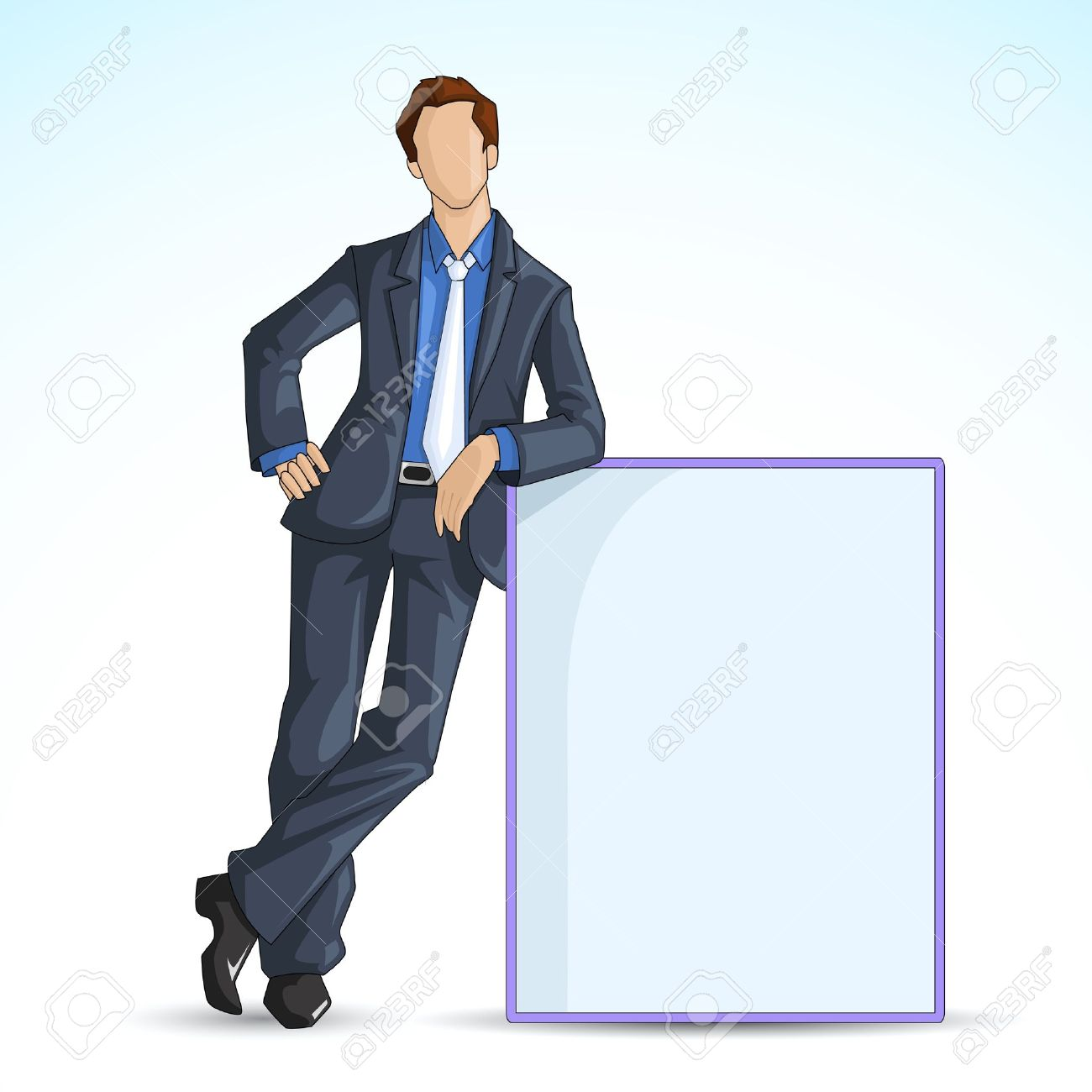 Leaning Clipart.