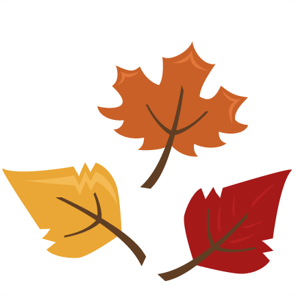 Fall Leaves SVG autumn svg file svg files for scrapbooking.