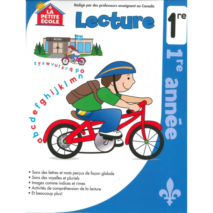 Lecture 1re French Reading Grade 1 by La Petite Ecole.