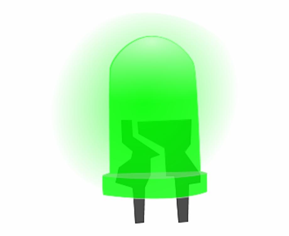 Lights Clipart Led Green Light Led Png.