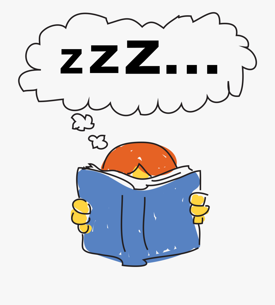 Free Download Kid Reading And Thinking Clipart Book.