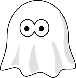White ghost clipart Transparent pictures on F.