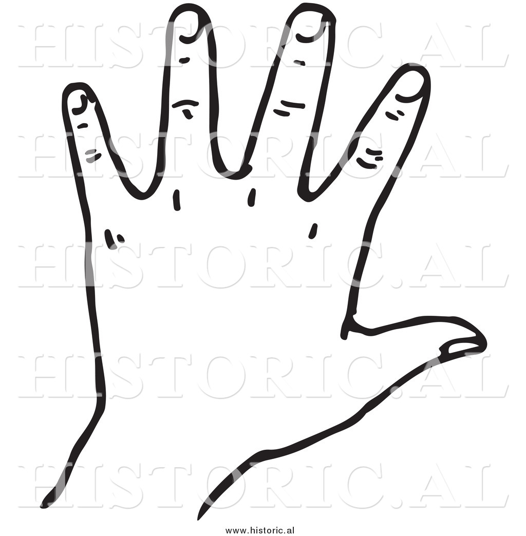 Left Hand Clipart.