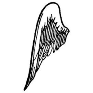 Free Clipart Picture of Left Side Wing.