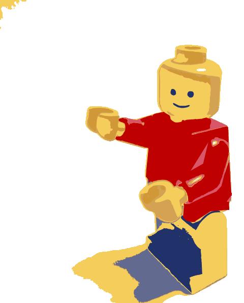 Lego Man Clip Art at Clker.com.