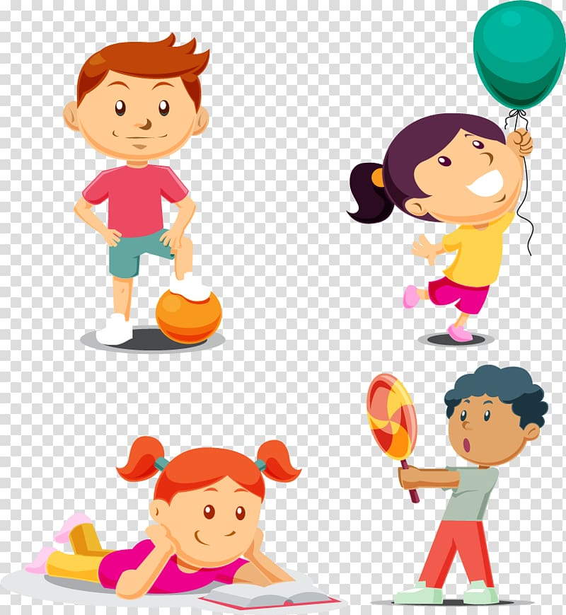 Play Child, Children\\\'s leisure time transparent background.
