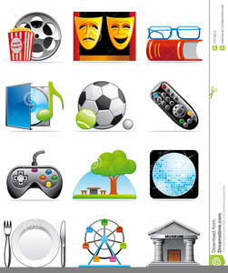 Leisure Time Clipart.