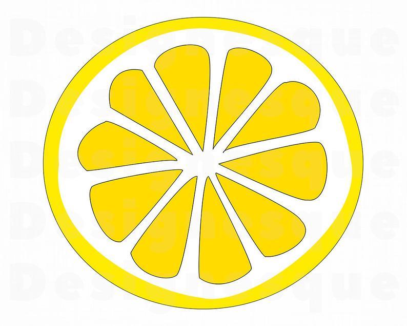 Lemon #3 SVG, Lemon SVG, Lemon Slice SVG, Lemon Clipart, Lemon Files for  Cricut, Lemon Cut Files For Silhouette, Lemon Dxf, Lemon Png, Eps,.