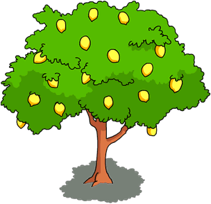 Image result for orange tree clipart in 2019.