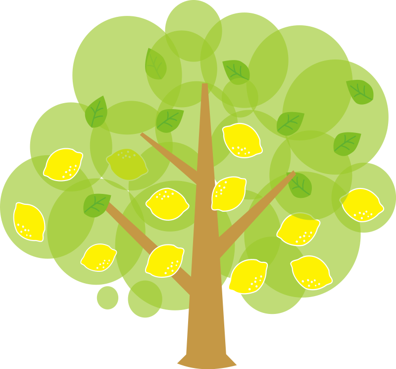 lemon tree clipart.
