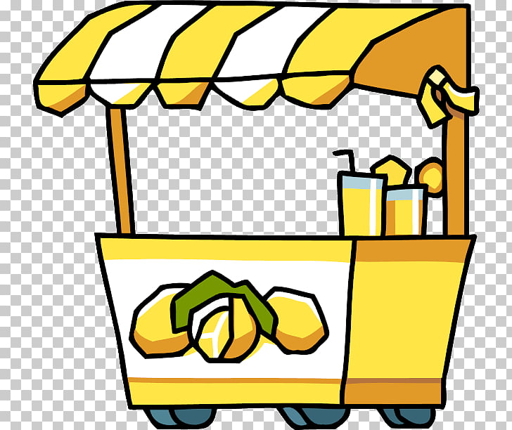 Lemonade stand Iced tea , Stand By s, lemon cart.