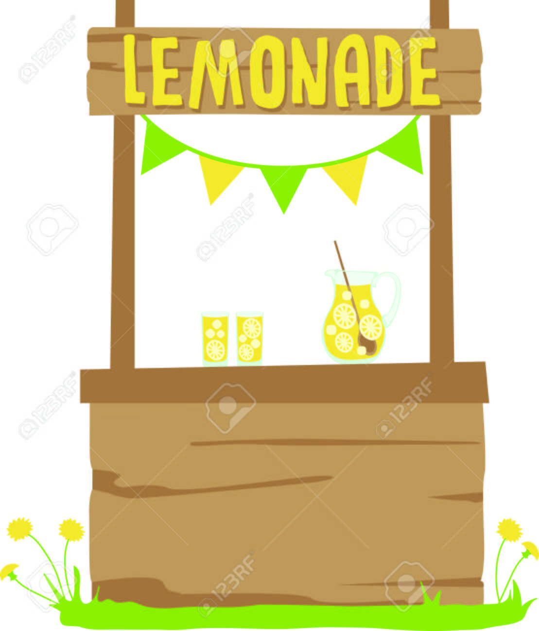 Clipart lemonade stand 7 » Clipart Station.