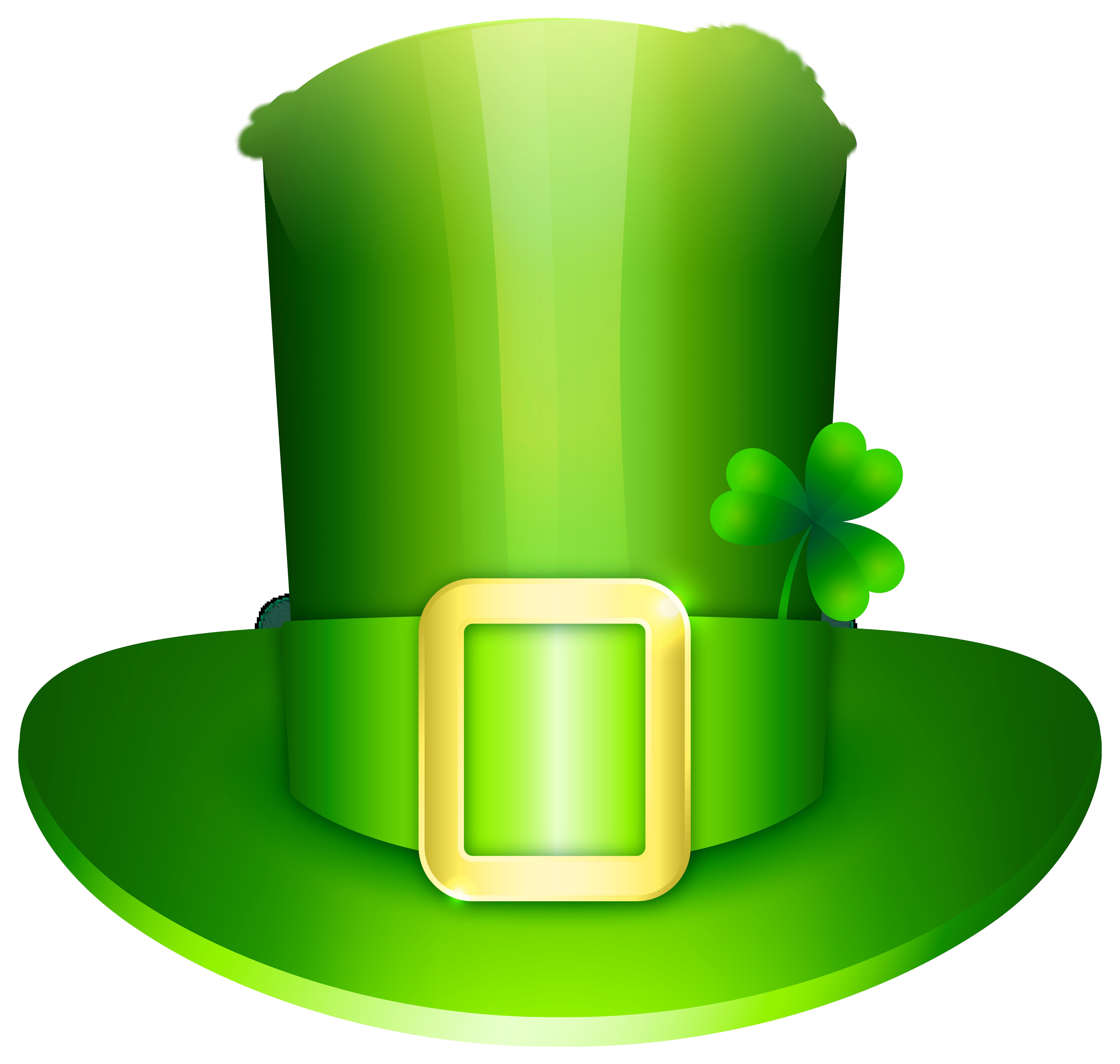 Leprechaun Hat PNG Clipart Image.