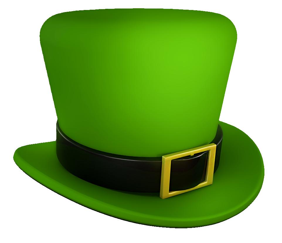 Saint Patricks Day Green Leprechaun Hat Transparent.