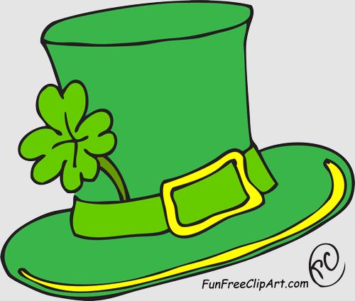 Clipart Leprechaun Hat.