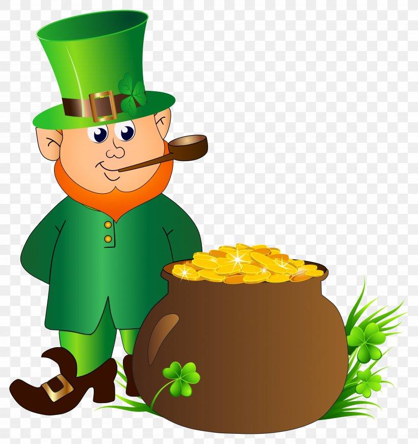 Leprechaun Saint Patrick\'s Day Clip Art, PNG, 7525x8000px.