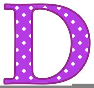Letter D Clipart.
