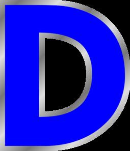 Letter D Clip Art at Clker.com.