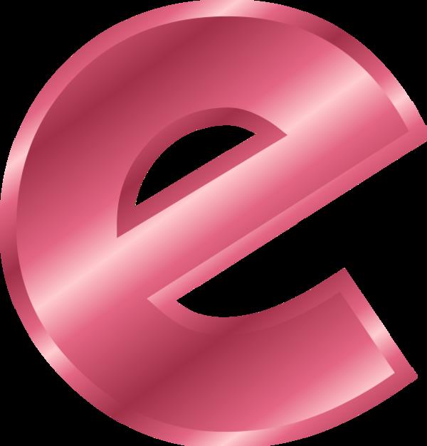 Letter E Png Clipart.