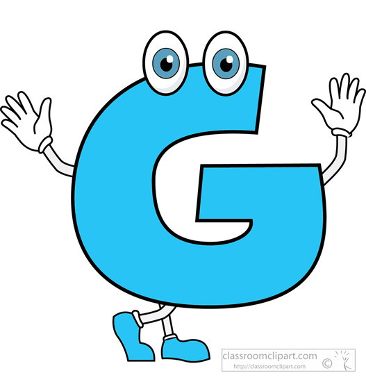 Clipart Images Of The Letter G.