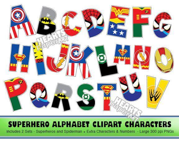 Superhero Font Generator Clip Art.