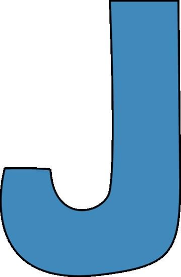 The Letter J Clipart.